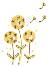 Dandelions graphic