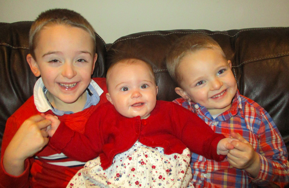Charlie, Lily and Sam are all success stories for the Fertility Centre
