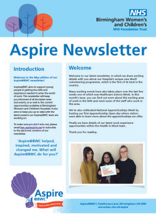 Aspire Newsletter May Edition 2018