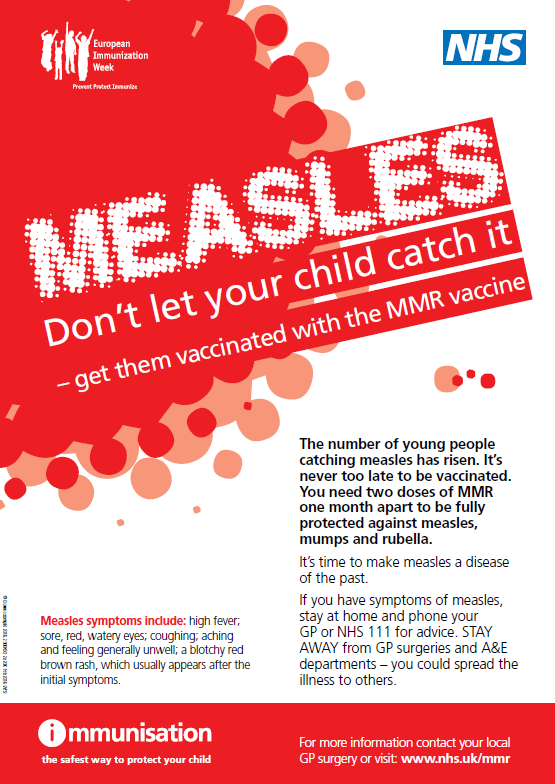 Measles poster