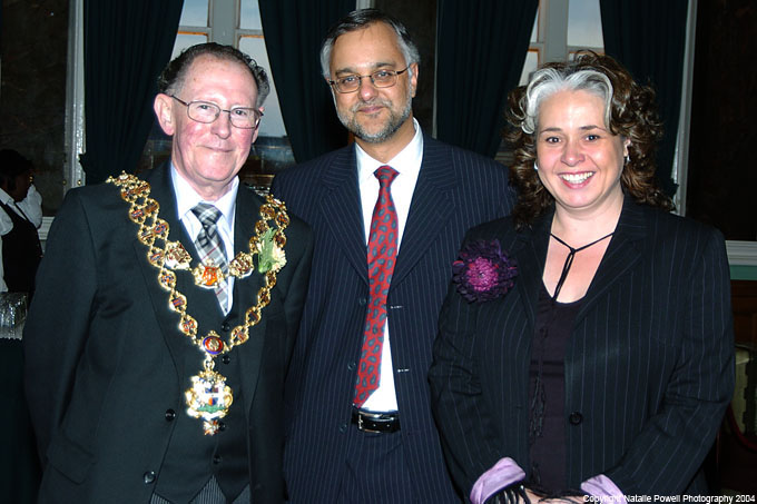 Dr Milford with the Lord Mayor and our former Chairman Jo Davis